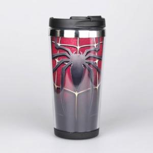 Кружка Человек-паук Тумблер Марвел Атрибутика 2