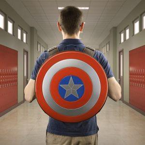 Рюкзак Щит Капитан Америка Марвел в форме Щита 8