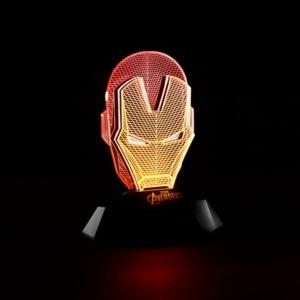Купить Спб Москва Питер СПБ 3D Лампа Ночник Железный Человек Атрибутика