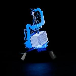 Купить Алматы СПБ Москва Питер 3D Лампа Ночник Тор Молот Тора Атрибутика Марвел