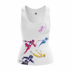 Женская Майка Power Rangers Могучие Рейнжеры - 5blrvocw 1487594681