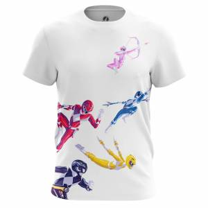 Мужская футболка Power Rangers Могучие Рейнжеры - 79dw7kil 1487594665