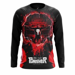 Мужской лонгслив Punisher War Zone - a4ejkvem 1499086583