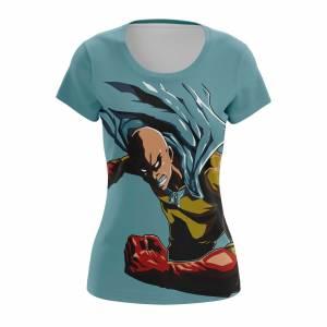 Женская футболка Ванпанчмен Атрибутика Мерч Saitama 3 - coojue25 1487768622