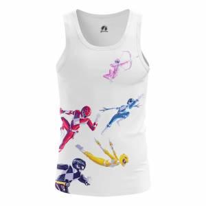 Мужская Майка Power Rangers Могучие Рейнжеры - dqs2qmbl 1487594677
