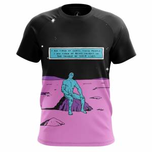 Мужская футболка Dr Manhattan Хранители DC Комикс - dyammen2 1496314583