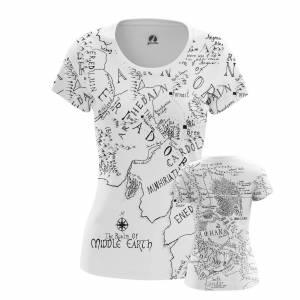 Женская футболка - Средиземье Властелин Колец - ead7oosd 1494487203