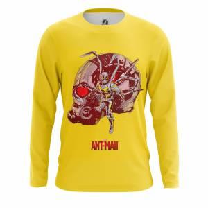 Мужской лонгслив Antman Человек-Муравей - m lon antman 1482275251 60