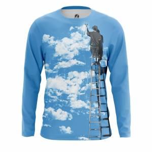 Мужской лонгслив Разное Clouds - m lon clouds 1482275278 147