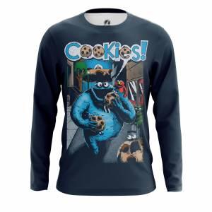 Мужской лонгслив Юмор Cookies - m lon cookies 1482275281 154