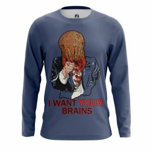 Мужской лонгслив I want your brains Халф Лайф - m lon iwantyourbrains 1482275341 323