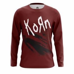 Мужской лонгслив Группа Korn Korn the album Корн - m lon kornthealbum 1482275363 369