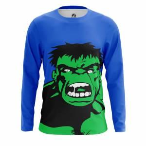 Мужской лонгслив Поп арт Pop Hulk Халк Марвел Комикс - m lon pophulk 1482275404 487