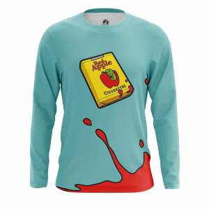 Мужской лонгслив Red Apple Cigarettes - m lon redapplecigarettes 1482275411 507