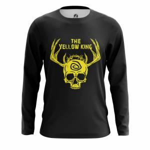 Мужской лонгслив Yellow king Настоящий Детектив - m lon yellowking 1482275470 676