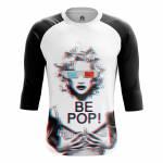 Мужской Реглан Поп арт Be Pop Мерилин Монро 3D Очки - m rag bepop 1482275254 79