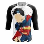 Мужской Реглан Man of Steel Супермэн DC Комикс - m rag manofsteel 1482275371 392