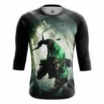 Мужской Реглан Green Arrow Зелёная Стрела DC Комикс - m rag 1482275325 274