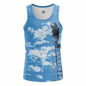 Мужская Майка Разное Clouds - m tan clouds 1482275279 147