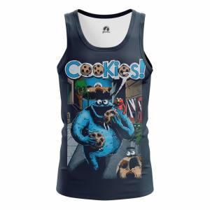Мужская Майка Юмор Cookies - m tan cookies 1482275281 154