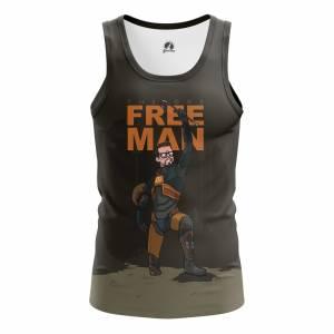 Мужская Майка Игры Freeman Халф Лайв 2 Игра - m tan freeman 1482275317 252