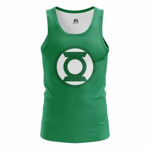 Мужская Майка Зелёный фонарь Эмблема Логотип DC Комикс - m tan greenlanternlogo 1482275326 279