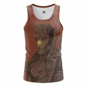 Мужская Майка Стражи Галактики I am Groot - m tan iamgroot 1482275340 320