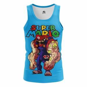 Мужская Майка Super Mario Марио Игра Нинтендо - m tan supermario 1482275440 588