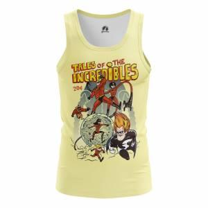 Мужская Майка Мульты The Incredibles - m tan theincredibles 1482275446 605