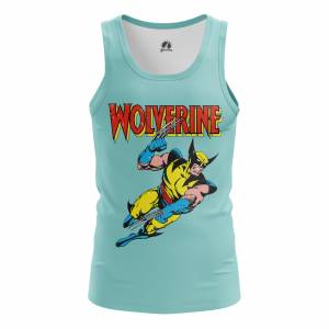 Мужская Майка Wolverine Росомаха - m tan wolverine 1482275466 670