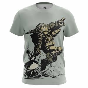 Мужская футболка Игры Bioshock Биошок Игра - m tee bioshock 1482275261 88