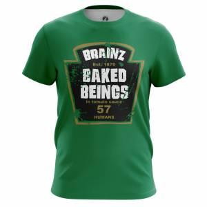 Мужская футболка Зомби Brainz - m tee brainz 1482275265 102
