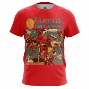 Мужская футболка Юмор Captain Obvious - m tee captainobvious 1482275267 114
