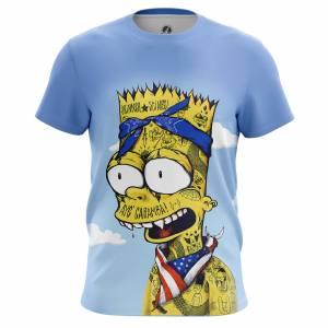 Мужская футболка Симпсоны Caramba - m tee caramba 1482275269 118