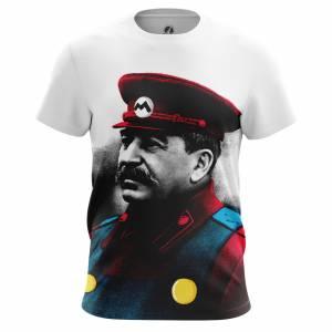 Мужская футболка Юмор Интернет Comrade Mario - m tee comrademario 1482275280 151