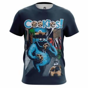 Мужская футболка Юмор Cookies - m tee cookies 1482275281 154