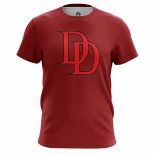 Мужская футболка Daredevil logo Сорвиголова Нэтфликс - m tee daredevillogo2 1482275286 168
