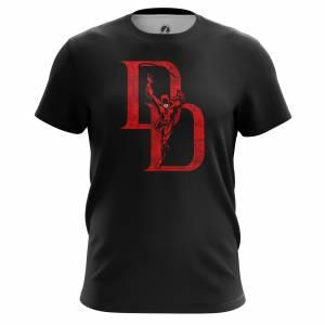 Мужская футболка Daredevil logo Сорвиголова Нэтфликс - m tee daredevillogo 1482275285 167