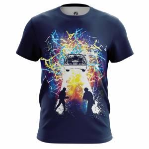 Мужская футболка Doc and Marty Назад в Будущее - m tee docandmarty 1482275300 204