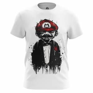 Мужская футболка Don Mario Марио Игра Нинтендо - m tee donmario 1482275301 208