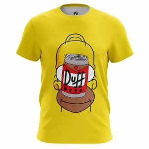 Мужская футболка Симпсоны Duff Face - m tee duffface 1482275307 217