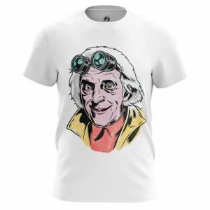 Мужская футболка Эммет Браун Назад в Будущее - m tee emmettbrown 1482275309 226