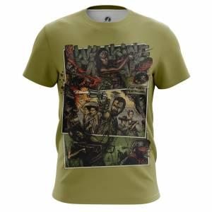 Мужская футболка Fight the Dead Ходячие Мертвецы - m tee fightthedead 1482275313 239