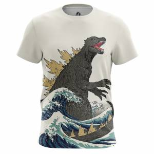 Мужская футболка Годзилла Динозавр Монстр - m tee godzilla 1482275323 267