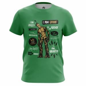 Мужская футболка Groot Стражи Галактики - m tee groot 1482275328 282