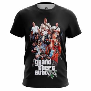 Мужская футболка GTA 5 ГТА Игра - m tee gta5 1482275328 285