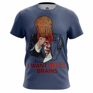 Мужская футболка I want your brains Халф Лайф - m tee iwantyourbrains 1482275342 323