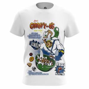 Мужская футболка Jims cereal Червяк Джим Сега Игры - m tee jimscereal 1482275352 346