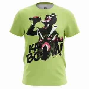 Купить Москва СПБ Киев Алматы Мужская футболка Kaboom Джокер DC Комикс