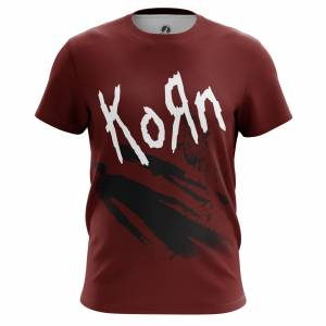 Мужская футболка Группа Korn Korn the album Корн - m tee kornthealbum 1482275363 369
